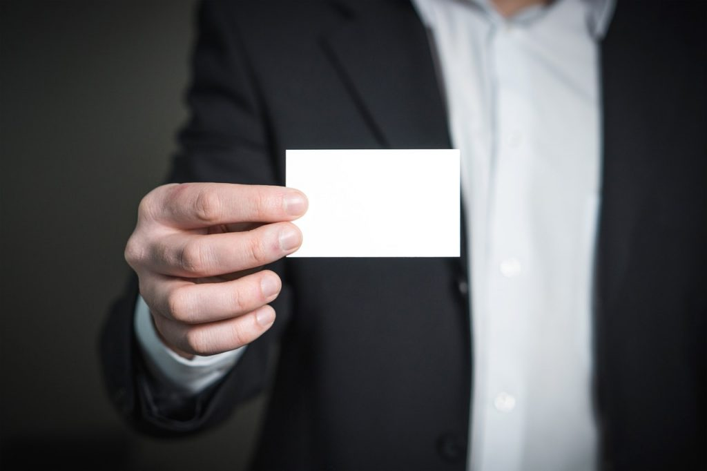 use business cards